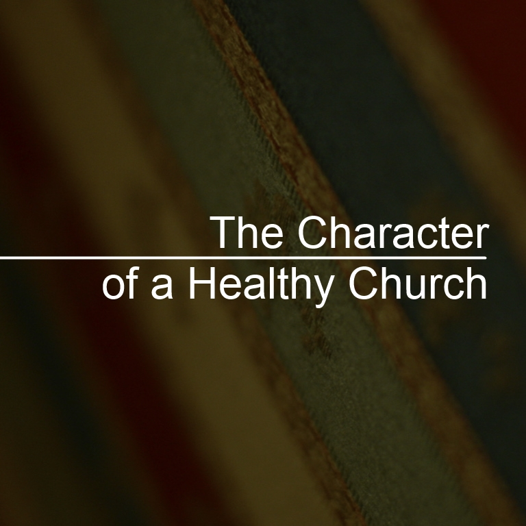 3-30-14 The Character of a Healthy Church: Discernment